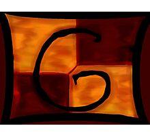 Gryffindor Banner Photographic Print