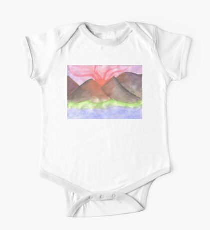 Setting the Sky on Fire One Piece - Short Sleeve