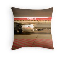 Tarmac 24 Throw Pillow
