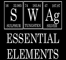 Swag Periodic Table by raineOn