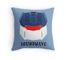 Soundwave [G1] Throw Pillow