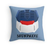 Soundwave [G1] Throw Pillow