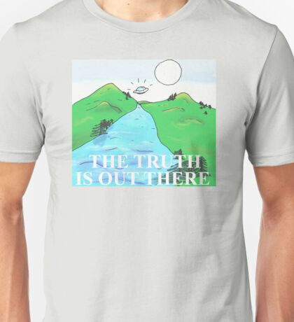 The Truth Is Out There - X-Files Illustration Unisex T-Shirt