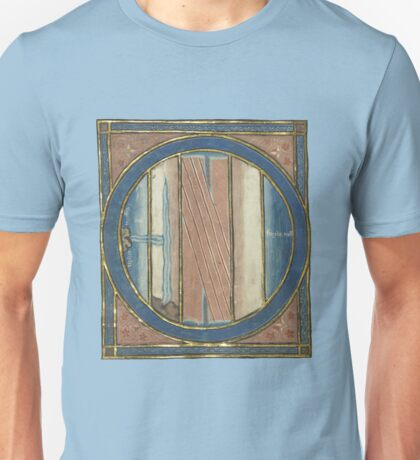 Medieval Map Of The World Unisex T-Shirt