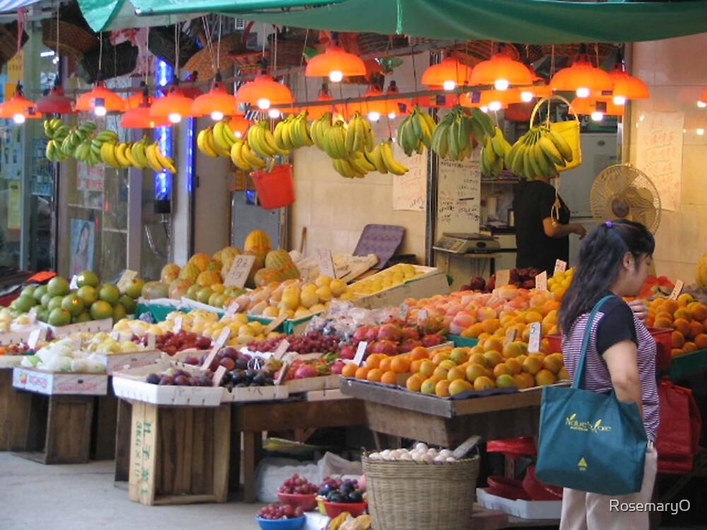 Fruit Market, Hong Kong by RosemaryO
