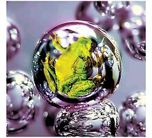 Toxic frog Bubbles  by Cliff Vestergaard