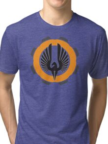 DarkHorse Design Logo Orange Tri-blend T-Shirt