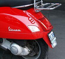 red vespa by mick8585