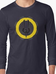 DarkHorse Design Logo Yellow Long Sleeve T-Shirt