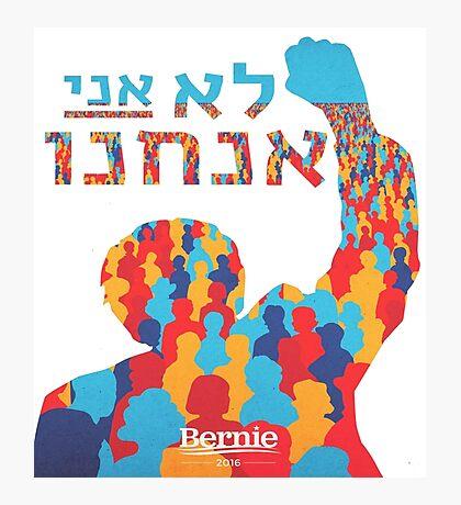 Hebrew Bernie Photographic Print