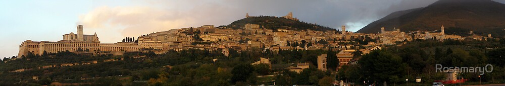 Assisi evening by RosemaryO