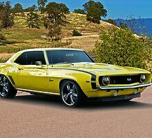 1969 Chevrolet Camaro 'Cowl Induction' by DaveKoontz