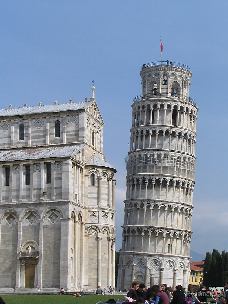 Leaning Tower of Pisa by RosemaryO