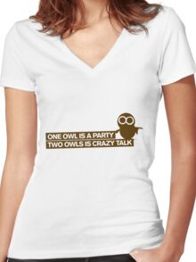 ABSOLUTE TRUTH IN NATURE Women's Fitted V-Neck T-Shirt