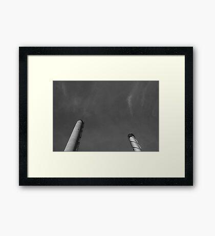 Paper Mill v.4 Framed Print