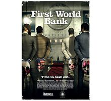 Payday - First World Bank Photographic Print