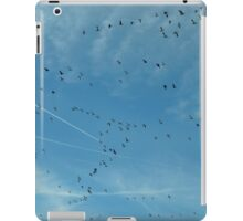 Geese & Contrails iPad Case/Skin