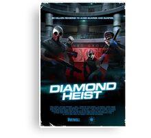 Payday - Diamond Heist Canvas Print