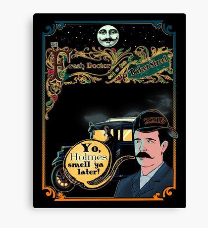 Print The Fresh Doctor Of Baker Street  Canvas Print