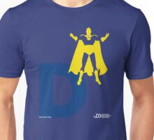 Doctor Fate - Superhero Minimalist Alphabet Clothing Unisex T-Shirt