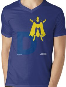 Doctor Fate - Superhero Minimalist Alphabet Clothing Mens V-Neck T-Shirt