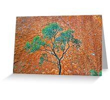 Uluru Detail #3 Greeting Card