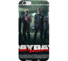Payday - No Mercy iPhone Case/Skin