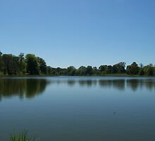 Blickling lake by adyb