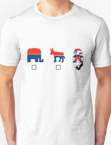 Vote for the Mario Party T-Shirt