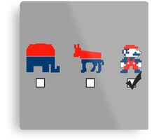 Vote for the Mario Party Metal Print