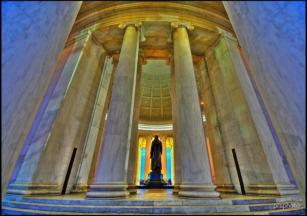 Jefferson at Dusk by prsphoto
