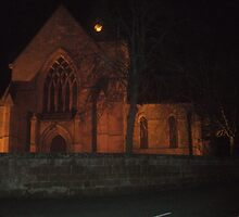 DORNOCH CATHEDRAL AT NIGHT by ceroc99