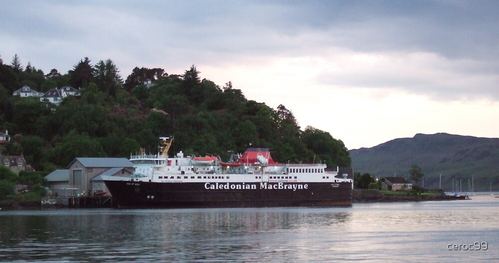 Oban to Mull Ferry by ceroc99