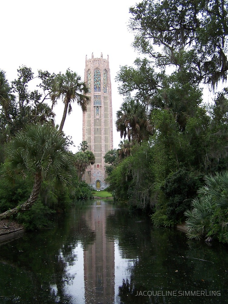 Bok Tower by JACQUELINE SIMMERLING