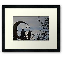 Chim Chim Cher-ee Framed Print