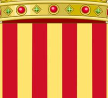 Coat of Arms of Catalonia Sticker