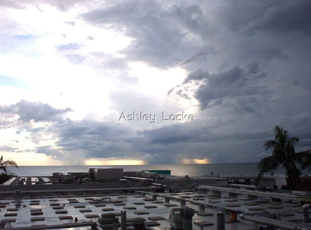 Rain Storm by Ashley  Locke