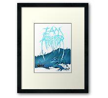 Loch Ness Monster - Iamaccelerator tee Framed Print
