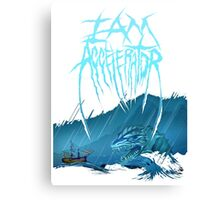 Loch Ness Monster - Iamaccelerator tee Canvas Print