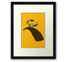 Road to Rampage - Inspired by Taxi Driver  Framed Print
