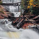 Michigan's Sable Falls by Kenneth Keifer