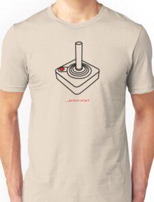 ...press start Unisex T-Shirt