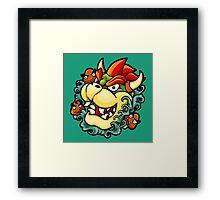 Oni Bowser Framed Print