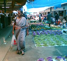 Vegetable Market, Nadi, Fiji by Camelot