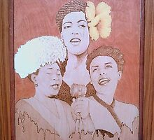 Ladies of Jazz by WBurtonJr