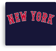 New York Versus Boston Rivals Canvas Print