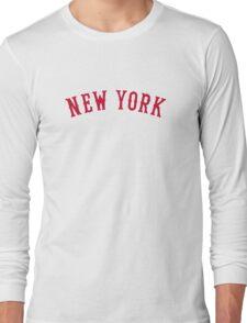 New York Versus Boston Rivals Long Sleeve T-Shirt