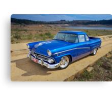 Blue Ford Mainline Canvas Print