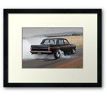Black EH Holden Framed Print