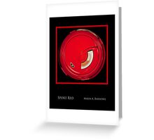 Sport Red - Cool Stuff Greeting Card
